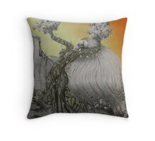 Connection With The Earth Throw Pillow