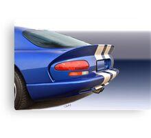 1995 Dodge Viper GTS VS5 Canvas Print