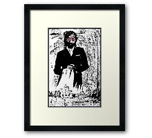 I Saw Him Standing There Framed Print