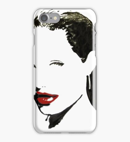 A seductive woman 2 iPhone Case/Skin