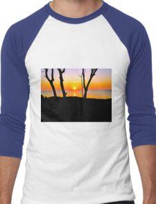 A GRAND SUNRISE Men's Baseball ¾ T-Shirt