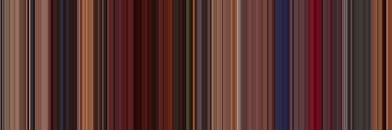 Moviebarcode: Fear and Loathing in Las Vegas (1998) [Simplified Colors] by moviebarcode