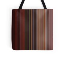 Moviebarcode: Fear and Loathing in Las Vegas (1998) [Simplified Colors] Tote Bag