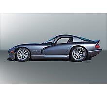 2000 Dodge Viper GTS VS3 'Profile' Photographic Print