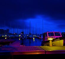 Harbor Nights by Andre Faubert