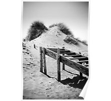Sand Dune Steps Poster