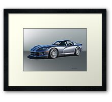 2000 Dodge Viper GTS VS2 Framed Print