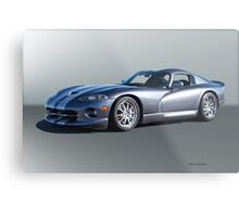 2000 Dodge Viper GTS VS2 Metal Print