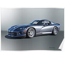 2000 Dodge Viper GTS VS2 Poster