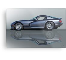 2000 Dodge Viper GTS VS0 'Reflections' Metal Print