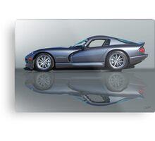 2000 Dodge Viper GTS VS0 'Reflections' Metal Print
