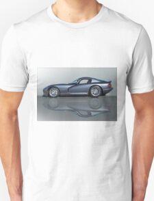 2000 Dodge Viper GTS VS0 'Reflections' Unisex T-Shirt