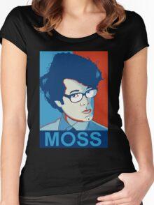 Moss- Nerd Legend Women's Fitted Scoop T-Shirt