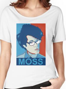 Moss- Nerd Legend Women's Relaxed Fit T-Shirt
