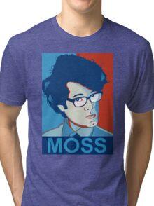 Moss- Nerd Legend Tri-blend T-Shirt