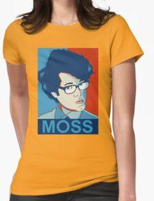 Moss- Nerd Legend Womens Fitted T-Shirt