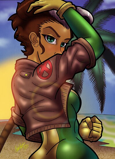 African American Rogue by illumistrations