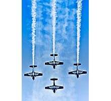 "Flying precise - ""Blue Arrows"" Photographic Print"