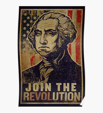 Washington Revolution Propaganda Poster