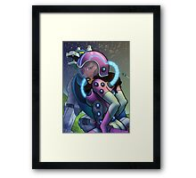 African American Princess Allura of Voltron Framed Print