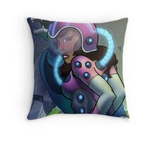 African American Princess Allura of Voltron Throw Pillow