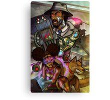 African American Inspector Gadget Canvas Print