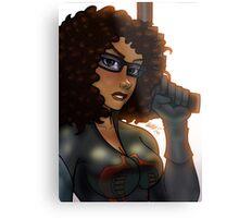 African American Baroness Metal Print