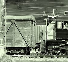 Freight Train by Evgeniy Lankin
