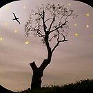 Tree among the stars by daffodil
