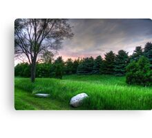 Stone's Throw Canvas Print