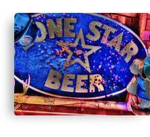 LoneStarBeer Canvas Print