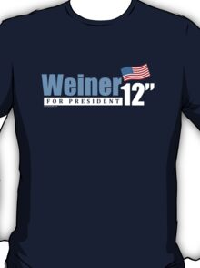 Weiner 2012 Inches - Dark T-Shirt