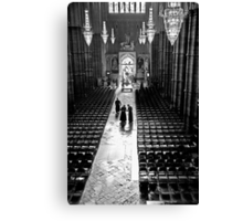 Clergy at Westminster Abbey Canvas Print