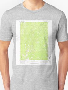 USGS Topo Map California Polar Bear Mountain 294307 1982 24000 T-Shirt
