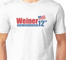 Weiner 2012 Inches Unisex T-Shirt