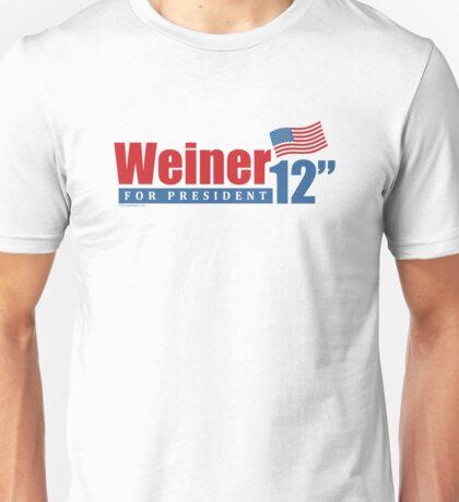 Weiner 2012 Inches Unisex T-Shirt