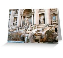 Rome: The Trevi Fountain Greeting Card