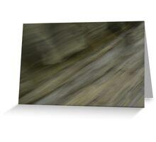 Slate Stone Wall Greeting Card