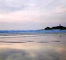 Gwithian Towans Beach by lorrainem