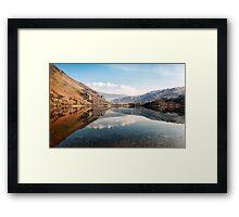 Reflection at Llyn Gwynant Framed Print
