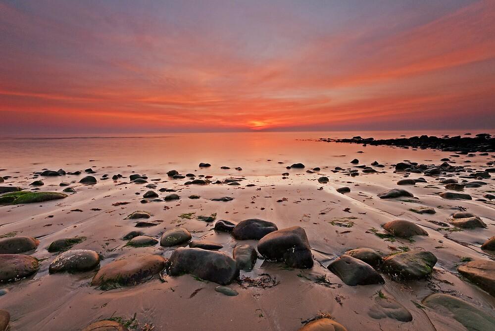 Harlech seascape by Carlb40