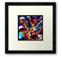 Faith, Love, Rock N Roll Framed Print