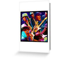 Faith, Love, Rock N Roll Greeting Card
