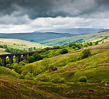 Dent Head Viaduct - North Yorkshire Dales by David Lewins
