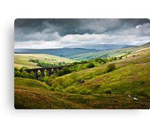 Dent Head Viaduct - North Yorkshire Dales Canvas Print