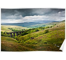Dent Head Viaduct - North Yorkshire Dales Poster
