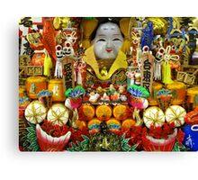 Budda Altar, Kyoto, Japan Canvas Print
