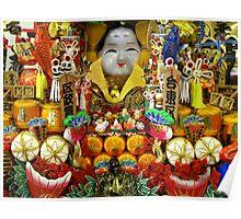 Budda Altar, Kyoto, Japan Poster