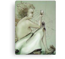 ... time sleeping ... Canvas Print
