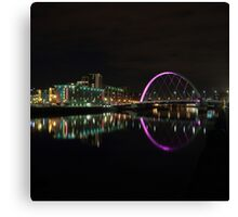 River Clyde at Night Canvas Print